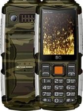Мобильный телефон BQ-Mobile BQ-2430 Tank Power (камуфляж/серебристый)