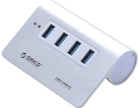 USB-хаб Orico M3H4-SV [OR0139]