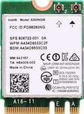 Wi-Fi/Bluetooth адаптер Intel Dual Band Wireless-AC 8260 [826NGW]