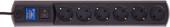 Сетевой фильтр Most HV6 2 м (черный)