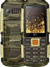 Мобильный телефон BQ-Mobile BQ-2430 Tank Power (камуфляж/золотистый)