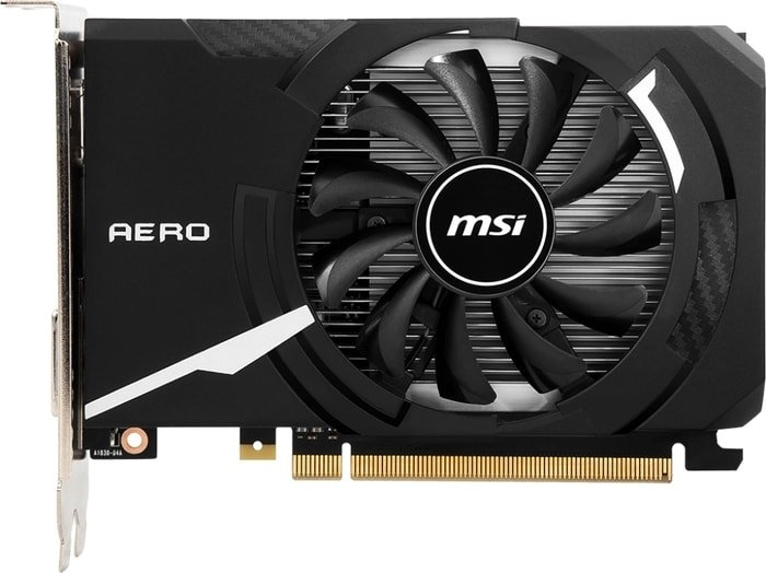 Видеокарта MSI GeForce GT 1030 Aero ITX OC 2GB DDR4