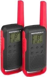 Портативная радиостанция Motorola T62 Walkie-talkie (черный/красный)