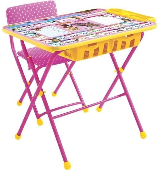Детский стол Nika Маша и медведь. Азбука 3 [КУ2П/3]