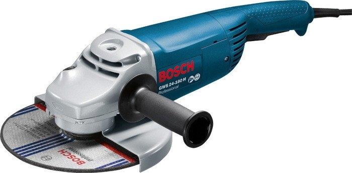 Угловая шлифмашина Bosch GWS 24-180 H Professional [0601883103]
