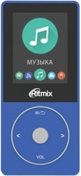 MP3 плеер Ritmix RF-4650 8GB (синий)