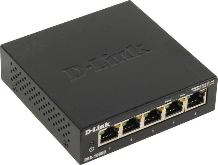 Коммутатор D-Link DGS-1005D/I3A
