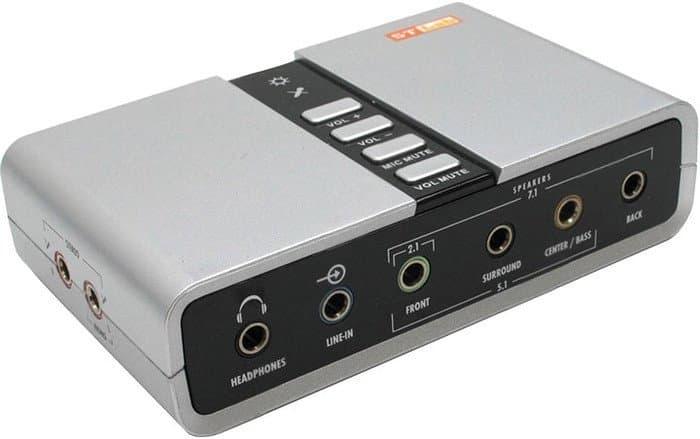 Внешняя звуковая карта Звуковая карта ST Lab M-330