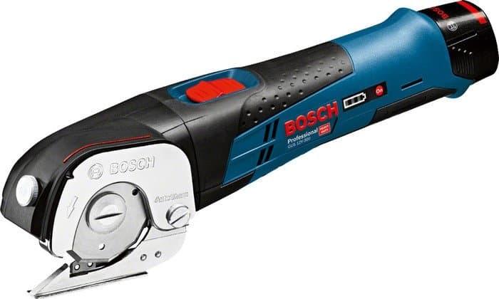 Листовые электрические ножницы Bosch GUS 12V-300 Professional 06019B2904 (с 2-мя АКБ, кейс)