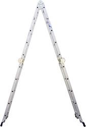 Лестница-трансформер Алюмет 4-х секционная Т 444 4х4