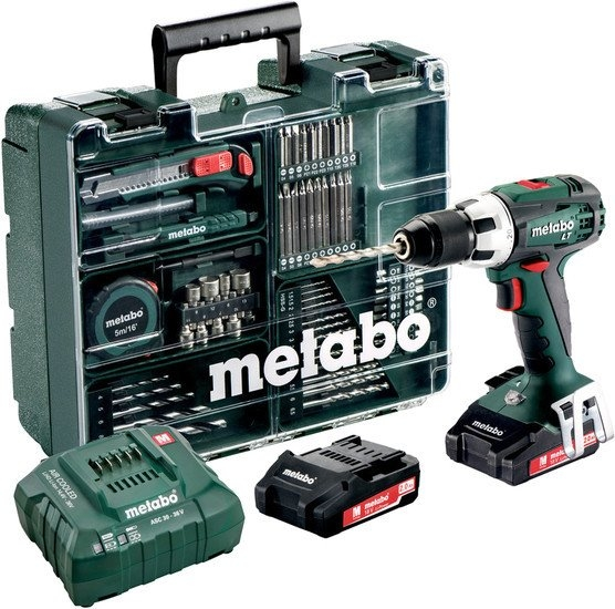 Дрель-шуруповерт Metabo BS 18 LT Set