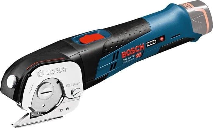 Листовые электрические ножницы Bosch GUS 12V-300 Professional (без аккумулятора)
