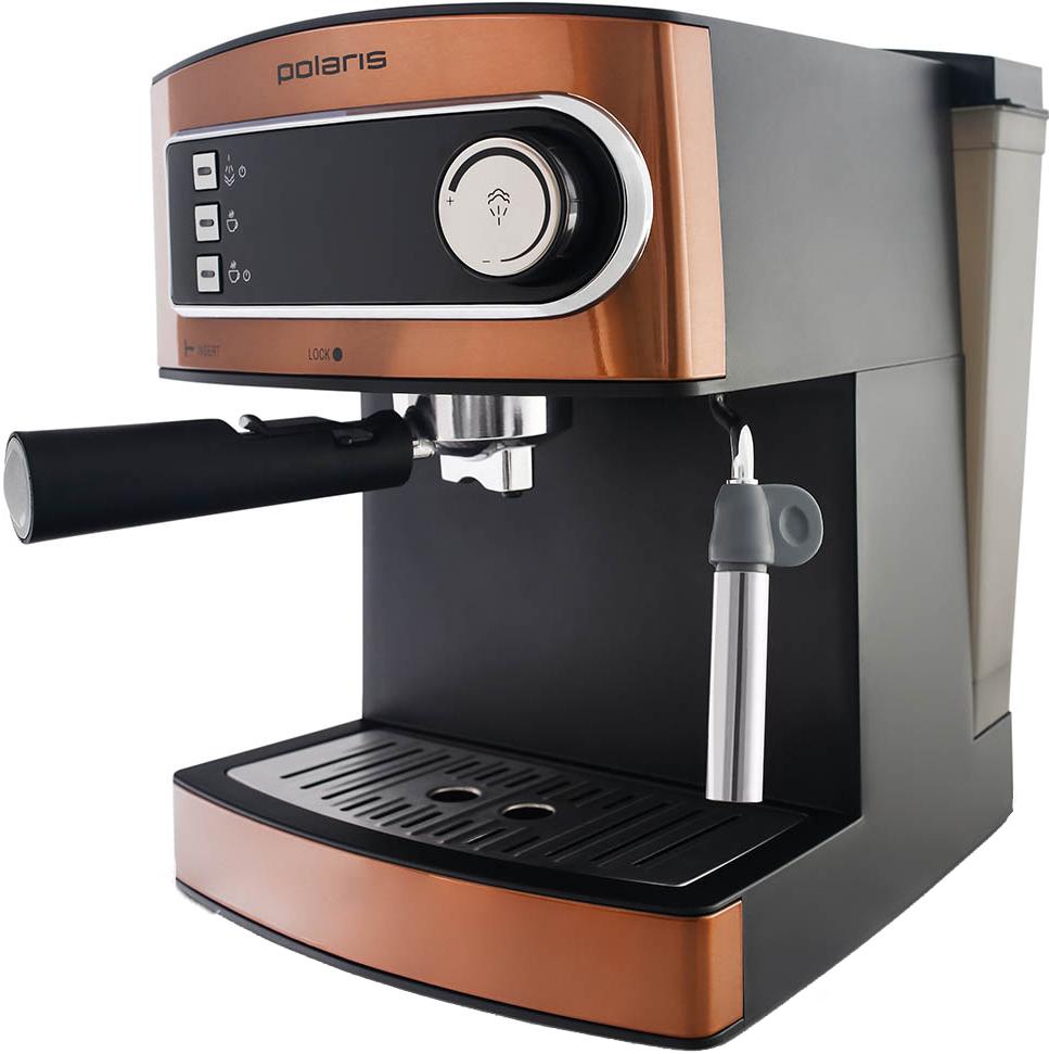 Рожковая помповая кофеварка Polaris PCM 1515E ADORE CREMA