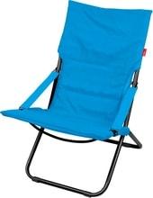 Кресло Nika Хаусхальт складное с матрасом HHK4/B (синий)