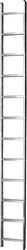 Лестница Алюмет односекционная приставная 5110 1×10
