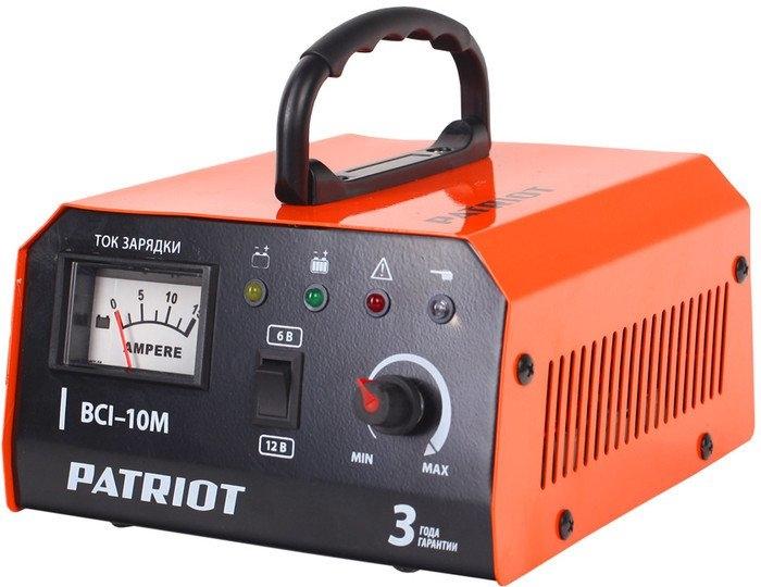 Зарядное устройство Зарядное устройство Patriot BCI-10M