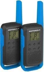 Портативная радиостанция Motorola T62 Walkie-talkie (черный/синий)