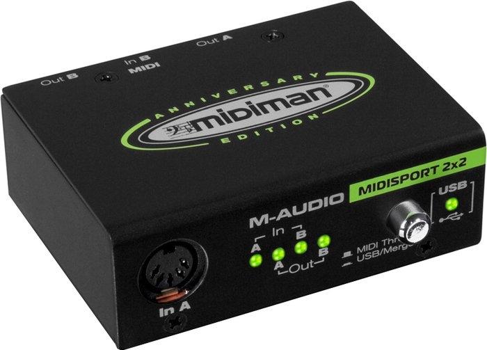 Аудиоинтерфейс M-Audio Midisport 2×2 Anniversary Edition
