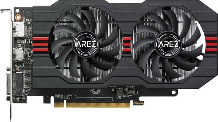 Видеокарта ASUS Arez Radeon RX 560 OC Edition 2GB GDDR5 AREZ-RX560-O2G-EVO