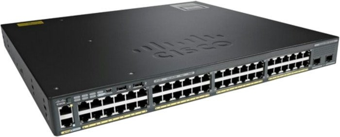 Коммутатор Cisco WS-C2960X-48TS-L