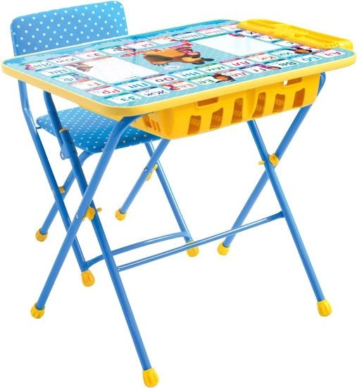 Детский стол Nika Маша и медведь. Азбука 2 [КУ2П/2]