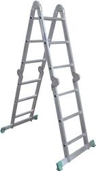 Лестница-трансформер TARKO шарнирная 4-х секционная 03404