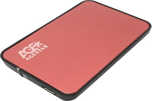 Бокс для жесткого диска AgeStar 3UB2A8 Red