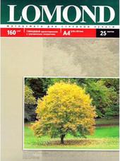 Фотобумага Lomond Глянцевая A4 160 г/кв.м. 25 листов (0102079)