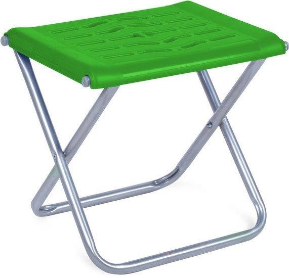 Табурет Nika походный с пластиковым сиденьем ПСП4 (зеленый)