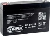 Аккумулятор для ИБП Kiper HR-690 F2 (6В/9 А·ч)