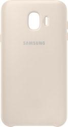 Чехол Samsung Dual Layer Cover для Samsung Galaxy J4 (золотистый)