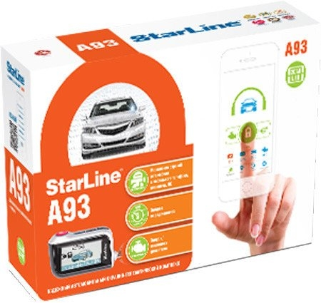 Автосигнализация StarLine A93 2CAN+2LIN