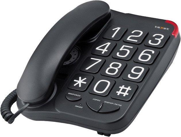 Проводной телефон TeXet TX-201