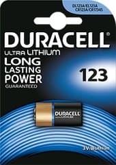 Батарейки DURACELL CR123