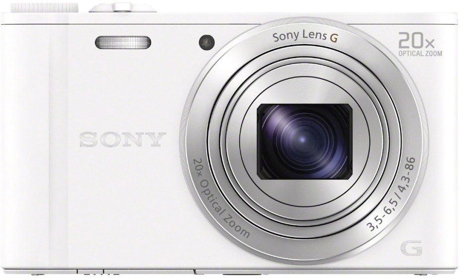 Фотоаппарат Sony Cyber-shot DSC-WX350 (белый)