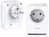 Комплект powerline-адаптеров Комплект из двух powerline-адаптеров D-Link DHP-P309AV