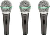 Микрофон Samson Q6 CL (3 шт.)