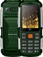 Мобильный телефон BQ-Mobile BQ-2430 Tank Power (зеленый)
