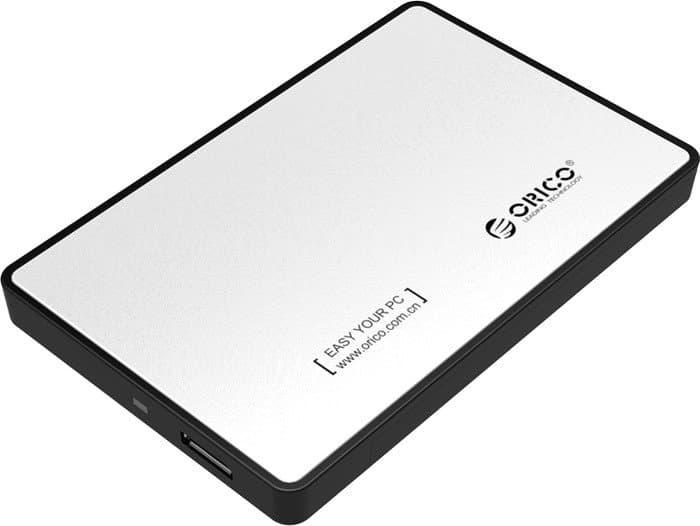 Бокс для жесткого диска Orico 2588US3-SV (серебристый)