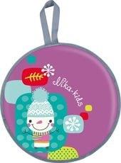 Санки-ледянка Nika ЛР45 (снеговик)