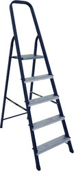 Лестница-стремянка Алюмет cтальная из профиля 40х20мм M8409