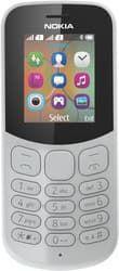 Мобильный телефон Nokia 130 Dual SIM (2017) серый