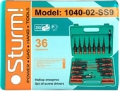 Набор отверток Sturm 1040-02-SS9 (36 предметов)