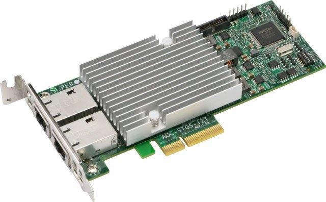 Сетевой адаптер Supermicro AOC-STG-I2T