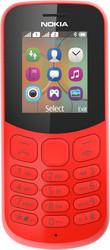 Мобильный телефон Nokia 130 Dual SIM (2017) красный