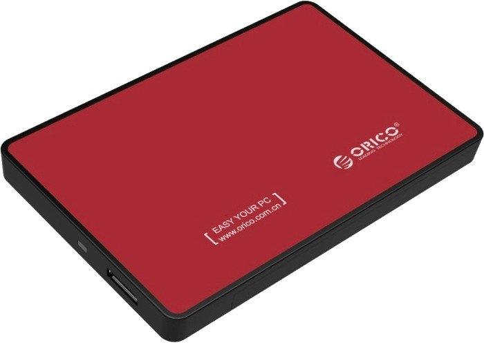 Бокс для жесткого диска Orico 2588US3-RD (красный)