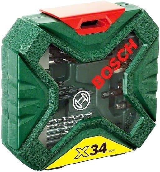 Набор торцевых головок и бит Bosch X-Line Classic 2607010608 34 предмета
