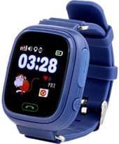 Умные часы Smart Baby Watch Q80 (темно-синий)