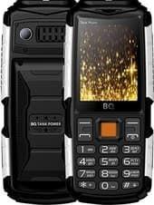 Мобильный телефон BQ-Mobile BQ-2430 Tank Power (черный/серебристый)