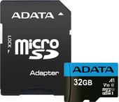 Карта памяти Карта памяти A-Data Premier AUSDH32GUICL10A1-RA1 microSDHC 32GB (с адаптером)